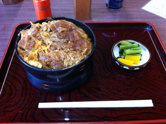 【糸魚川】有名な「大むら」のカツ丼1