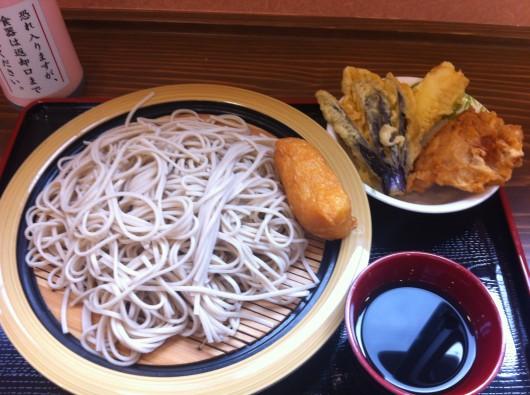 【上越】10月OPENの「水車」の蕎麦