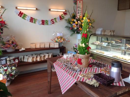 【上越】菓子工房 caramelの店内