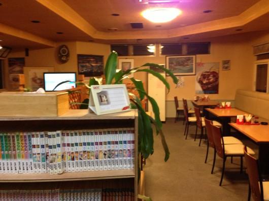 【上越】ジャックランドに載っていた喫茶「たいむ」の店内