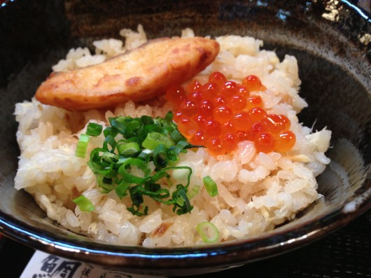 【柏崎】割烹いなほの鯛めし茶漬け1
