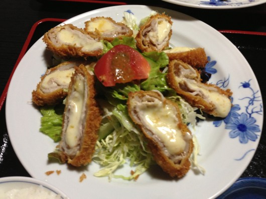 【上越】梢のチーズ入り豚カツ2